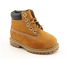 """@Overstock - Let the kids experience urban rugged style firsthand in the orginal, timeless boots by Timberland. The 6"""" Premium Waterproof Boot features a premium suede upper for comfort and durability. http://www.overstock.com/Clothing-Shoes/Timberland-Boys-6-Premium-Waterproof-Beige-Boots/6761136/product.html?CID=214117 $71.99"""