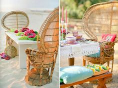 Outdoor Tablescape | Photo Shoot | Camel Dessert | Vintage Furniture | Peacock Chair | Boho Decor | Interior Design