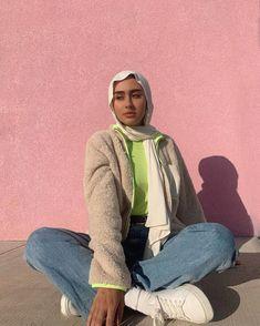 Modest Fashion Hijab, Modern Hijab Fashion, Muslim Women Fashion, Street Hijab Fashion, Modesty Fashion, Hijab Fashion Inspiration, Teenage Outfits, Trendy Outfits, Cute Outfits