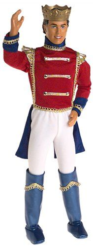 Fashion Doll: Barbie Nutcracker KEN as Prince Eric Doll 2001 ** Click on the image for additional details.