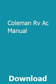30 Best Coleman RV Air Conditioners images in 2018   Air
