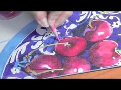 ▶ Colored Pencil blending with water - YouTube