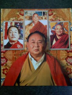 Sogyal Rinpoche and his masters