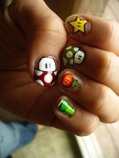 Yes! Mario nails ;)