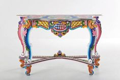 Colorful Hand Painted Furniture by Kare Design - Home Decorating Trends