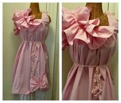a4155faaf13eb Pink Maternity Dress Small, Medium, Baby Patisserie Knee Length Prenatal  Maternity Womens Ruffled