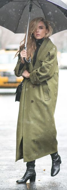 I have a new Khaki Long Line Trench by Styleheroine. It should keep me dry.......