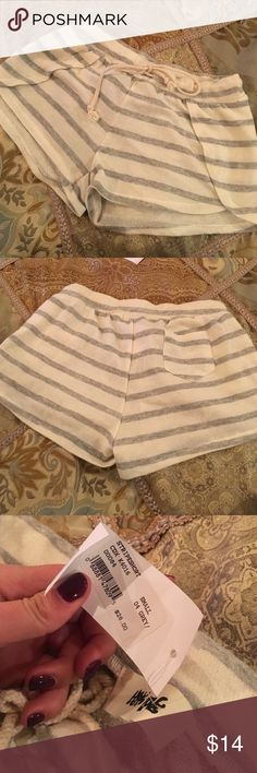 Stripped shorts Bought these shorts from vanilla sky with intentions to wear n never wore them. Size S Shorts