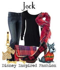 Jock - from Lady and the Tramp Disney Themed Outfits, Disney Bound Outfits, Disney Dresses, Disney Clothes, Fandom Fashion, Geek Fashion, Couture Fashion, Disney Inspired Fashion, Disney Fashion