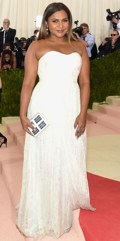 See All the Best Looks from the 2016 Met Gala Red Carpet - Mindy Kaling  - from InStyle.com