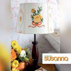 LE IDEE DI SUSANNA č. 310 - únor 2016 na www.finery.cz Cross Stitch, Table Lamp, Home Decor, Punto De Cruz, Table Lamps, Decoration Home, Room Decor, Seed Stitch, Cross Stitches