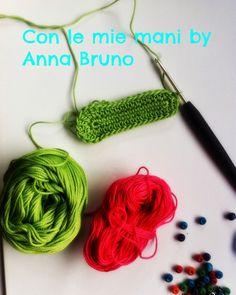 Con le mie mani by Anna Bruno: Tutorial scarpine baby crochet