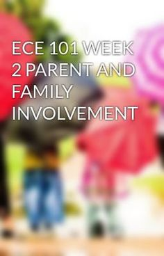#wattpad #short-story ECE 101 WEEK 2 PARENT AND FAMILY INVOLVEMENT  TO purchase this tutorial visit following link: http://wiseamerican.us/product/ece-101-week-2-parent-family-involvement/ Contact us at: SUPPORT@WISEAMERICAN.US ECE 101 WEEK 2 PARENT AND FAMILY INVOLVEMENT CE 101: Introduction to Early Childhood Educatio...