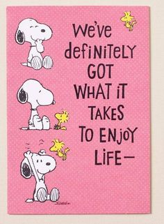 Snoopy and Woodstock... I may have already pinned this, but it's too cute to pass up!