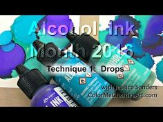 Everything alcohol ink! I am pouring all of my knowledge, tips, tricks, and techniques for using alcohol inks here.