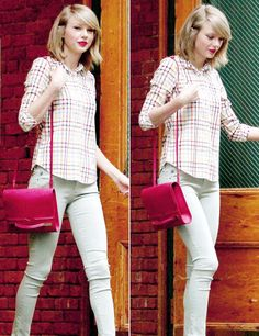 Taylor Swift - Leaving her apartment in NYC [04/15]