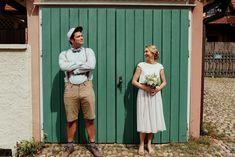 Leichtes Hochzeitskleid mit wadenlangem Rock in Puderrosa | noni Tops, Pants, Fashion, Unique Dresses, Two Piece Outfit, Nice Asses, Trouser Pants, Moda, Fashion Styles