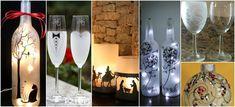 Aprende cómo hacer pintura esmerilado para decorar en vidrio ~ Haz Manualidades Bottle Crafts, Glass Art, Decoupage, Alcoholic Drinks, Things To Do, Projects To Try, Baby Shower, Diy Crafts, Christmas