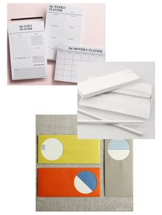 Beauty & Baggage: The Best Minimal Stationery