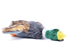 Plush Squeaky Puppy Dog Chew Toy for Tiny Small Chewers Mallard 8 PUPTECK -- Want additional info? Click on the image.