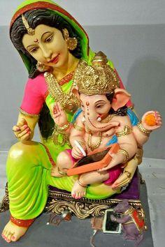 Jai Ganesh, Ganesh Idol, Shree Ganesh, Ganesha Art, Krishna Art, Shri Ganesh Images, Ganesh Chaturthi Images, Ganesha Pictures, Ganesh Bhagwan