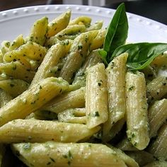 Creamy basil pesto with one third the calories and one quarter of the fat of traditional pesto sauce!