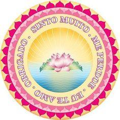 Mouse pad - Hooponopono - lindos artigos esotéricos. www.seupoder.com.br