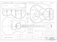 Plans - Guitares Grellier