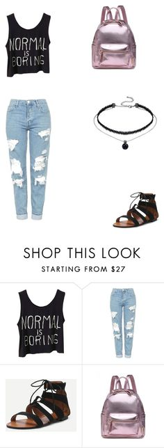 """""""Untitled #60"""" by bleona-ermonda on Polyvore featuring Topshop"""