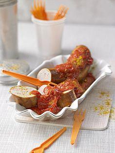 Currywurst - Soße, ein gutes Rezept aus der Kategorie Vegetarisch. Bewertungen: 539. Durchschnitt: Ø 4,6.