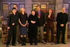 Roseanne show reunion 1998 Roseanne Tv Show, Roseanne Barr, Amy Sherman Palladino, Sara Gilbert, Domestic Goddess, Old Tv Shows, Tv Guide, Theme Song, Movies Showing