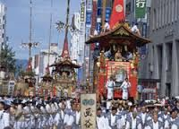 """Historically, the Gion festival is an interesting coming together of essentially autonomous neighborhood associations, called chōnai. The chōnai are essential to everything about the festival; traditionally each chōnai funded its own hoko, and the rise and fall of the festival yamaboko mirrored the fluctuations in fortunes of chōnai members"" - http://gionfestival.org/community/"