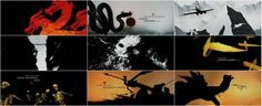 RICKY - This is a graphic sequence shown within the movie 'Mummy: Tomb of the Dragon Emperor, 2010'. This animated title end sequence is drawn in a calligraphic splattered ink style to give it an Asian feel. Each individual scenes all have animation but the transitions of each scene retells the story in a more constraint way, with each sequence retelling the different parts of the film.