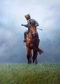 The Head Lad Limited Edition Horse Racing Print by Peter Curling