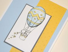 Stampin Up Easter card using the Everybunny stamp set