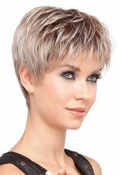 Short hair model More - Lou Hubbard - - Modele cheveux courts Plus Short hair model More - Short Hair Model, Short Grey Hair, Short Hair With Layers, Gray Hair, Hair Styles For Women Over 50, Short Hair Cuts For Women, Short Hairstyles For Women, Short Pixie Haircuts, Pixie Hairstyles