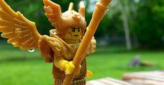The Winged Warrior.  #lego #legophotography #legostagram @lego #legominifigures #series15minifigures #legowingedwarrior by moffitt_studios