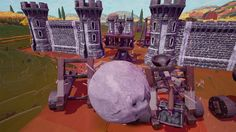 [Rock of Ages II: Bigger and Boulder] Impressionism screenshot http://store.steampowered.com/app/434460/ The greatest rock-racing, tower defense, art history game is back! Bigger and Boulder cranks up the surrealism and gameplay with chaotic 2-vs-2 multip
