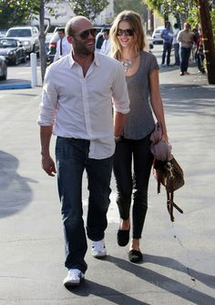 Rosie Huntington-Whiteley - Jason Statham And Rosie Huntington-Whiteley Out And About In West Hollywood