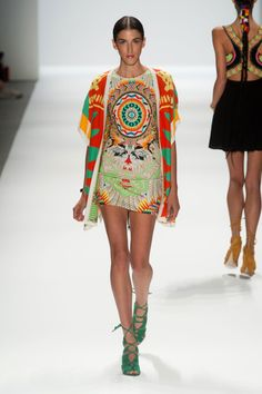 Mara Hoffman Spring 2014 Runway Show | NY Fashion...April in Amsterdam loves it!...