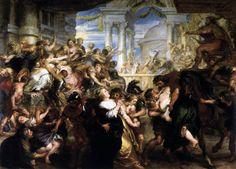 Η αρπαγή των Σαβίνων γυναικών. (1635-37)