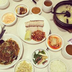 korean feast at crystal jade ngee-ann city, singapore
