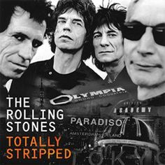 The Rolling Stones - Totally Stripped on Vinyl 2LP + DVD June 3 2016