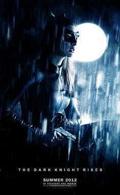 Fan art featuring Anne Hathaway as Catwoman