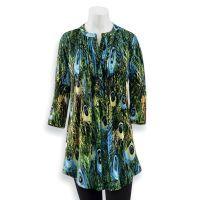 Peacock Print Tunic