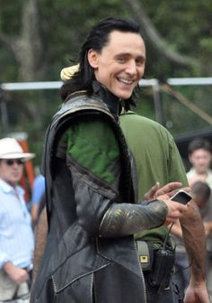 Look Loki has found an Iphone............ I need his number...........now