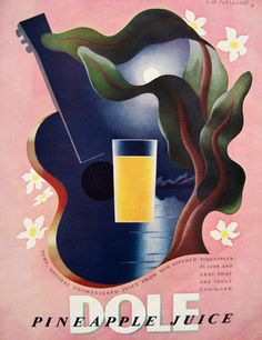 Dole Pineapple 1938 | A.M. Cassandre