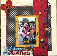 Disney Vacation - Scrapbook.com