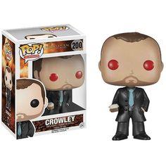 Figurine - Supernatural - Crowley Red Eyes Hot Topic Pop 10cm - Oyoo