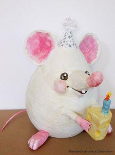 Little Birthday  Mouse Pinata